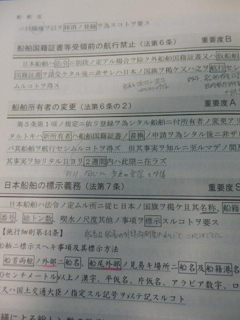 船舶法の条文の抜粋