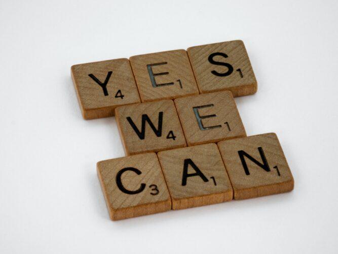 わたしたちはできる。