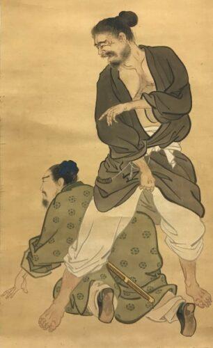 韓信の股くぐり画像