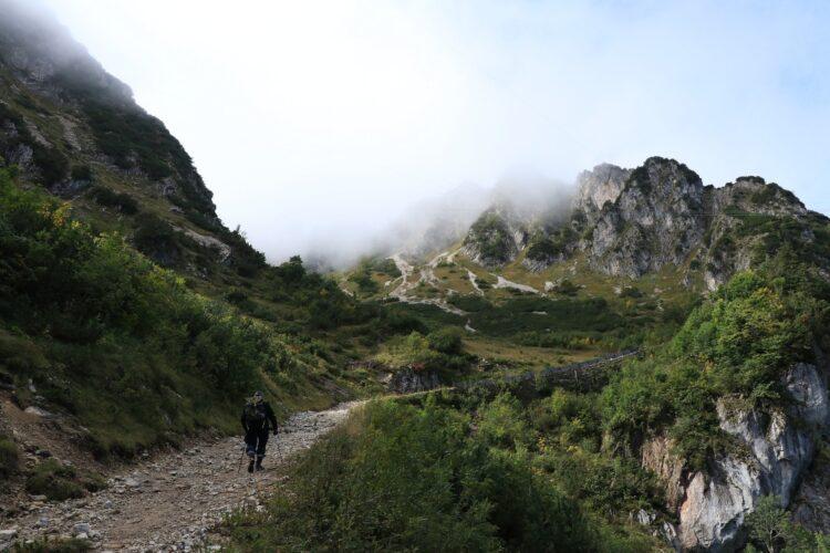 山登りの写真