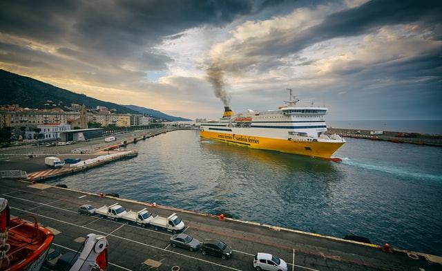 旅客船の写真